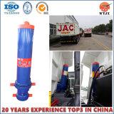 Cylindre télescopique Mouvement avant pour cylindre de camion à benne basculante