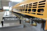 믿을 수 있는 질을%s 가진 Harsle 상표 제품: QC11y 유압 단두대 CNC 깎는 기계