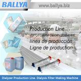 Planta de fabricación médica completamente automática semiautomática para la fabricación del producto de la diálisis
