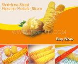 Slicer elétrico da batata do aço inoxidável (HE02-1)