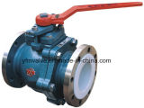 PFA Lined 2-Pieces Ball Valve para Chemical