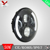 E-MARK 7inch LED Headlight voor Jeep Harley Motorcycle