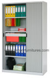 Дешевые кухонные шкафы офиса двери Tambour