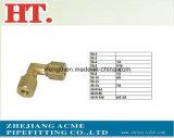 Montaggio d'ottone americano del connettore del gomito del sindacato dei comp. di alta qualità con la noce