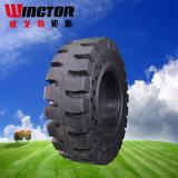 고품질 17.5-25 단단한 OTR 타이어, 바퀴 로더 단단한 타이어 17.5-25
