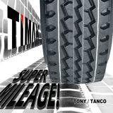 neumático del carro de 12.00r20 1200r20 12r20 12X20 con el tubo y la aleta