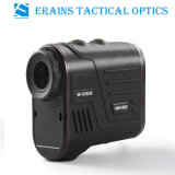 Laser Golf Rangefinder Range Speed Measurement de Hunting de la Largo-distancia de Erains Tac Optics W600s 6X22 los 600m