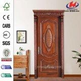 Дверь мастера составная роскошная нутряная деревянная