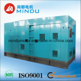 Conjunto de generador diesel del uso 240kw Weichai de la construcción