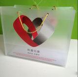 Sachet en plastique de polypropylène de pp avec le logo d'impression (sac clair de marquage à chaud)