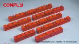 A barra da série do Cl suporta os isoladores BMC da baixa tensão, SMC