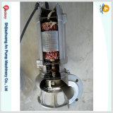 Pompe marine d'eau de mer de ballast submersible lourd de cale