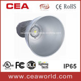 CE RoHS Approved 100W LED High Bay Light dell'UL SAA con Bridgrlux Chip e Meanwell Driver