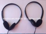 Fones de ouvido da em-Orelha de Earfoam com microfone e o auscultadores estereofónico baixo profundo