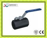 Le PC de l'usine 1 de la Chine a vissé le robinet à tournant sphérique d'extrémité d'En10226