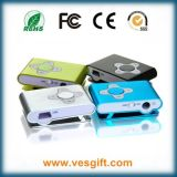 8GB Plum Clip MP3 Player com tela