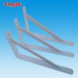Supporto a mensola decorativo resistente d'acciaio di angolo del metallo da 90 gradi del fornitore della Cina