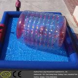 레크리에이션 휴일 팽창식 수영장 팽창식 물 걷는 롤러