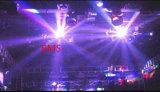 16 PCS 크리 사람 RGBW LED 이동하는 맨 위 두 배 비행 빛