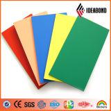 PVDFアルミニウム中国の製造者からのComstructionの会社Ideabondの最新の建築材料の価格の熱い販売