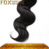 Тип цвет выдвижения волос нового прибытия 2016 Queenlike бразильский объемной волны естественный черный