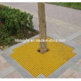 FRP GRP Decrotive Grating Cover per Protecting Trees