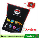 Gift Boxの金属Pokemon Badge Suit