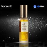 Aceite esencial de pelo con alta calidad de aceite de argán para el cuidado del cabello de la etiqueta privada