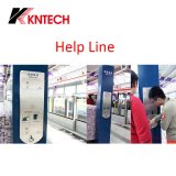 Metro Station Telephone Help Point com Induction Loop (KNZD-17) Kntech