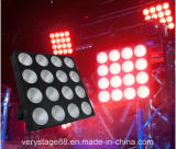 4 * 4 LED Matrix Blinder / 1 3-en-Matrix LED Panel Pix / luz de la etapa del disco de luz RGB