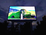 Signage do diodo emissor de luz Digital da borda da estrada de P10 DIP346 RGB