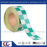 Горячая продавая лента безопасности Multi цвета Checkered предупреждающий отражательная (C3500-G)