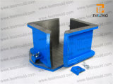 Concrete Test를 위한 모형 Cm Cast Iron 또는 Steel 또는 Plastic Cube Mould