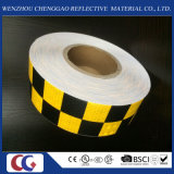 Fahrzeug-Augenfälligkeit Belüftung-Quadrat-reflektierendes Band mit Kristallgitter (C3500-G)