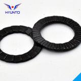 Rondelle de freinage de cale avec le zinc noir
