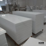 Hoja de superficie sólida de acrílico para pared Glacier White