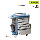 Trolley médico para Hospital Drug Delivery (HK812)