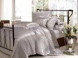 Jogo de seda do fundamento da folha sem emenda de seda de linho de base da qualidade de Oeko-Tex do hotel