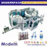 Máquina de rellenar de consumición en botella del agua pura