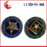 高品質によってカスタマイズされる軍の記念品の硬貨