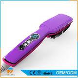 Nueva alta calidad del estilo LCD rápida Calefacción eléctrica enderezadora cepillo de pelo