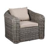 Jogo ao ar livre do sofá da mobília do Rattan novo do projeto