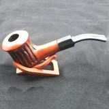 Handmade высеканная труба табака Weed Rosewood древесины установленная куря