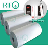 Rph-120 БОПП синтетическая бумага для водонепроницаемый карта с RoHS & MSDS Reprot