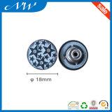 Кнопка джинсыов кнопки хвостовика способа бессвинцового никеля свободно
