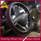 Cloth Car Steering Wheel Cover를 가진 Colors 각종 PU
