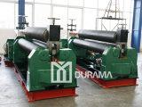 Máquina de rolamento simétrica de três rolos/de máquina/placa de dobra tipo mecânico da máquina de dobra