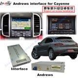 Interfaccia di percorso per Porsche-Macan, Caienna, Panamera; Aggiornare il percorso di tocco, WiFi, BT, Mirrorlink, HD 1080P, programma di Google