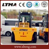 Chariot élévateur diesel de la tonne 15-30 neuve de Ltma avec des fourches de chariot élévateur
