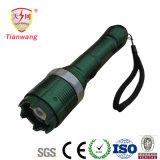 Het gemakkelijk Verzwijgbare Flitslicht Taser van de Politie van het Aluminium overweldigt Kanonnen